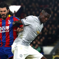 'No wonder Mourinho has left him out' - Neville rips Pogba's first-half showing against Palace