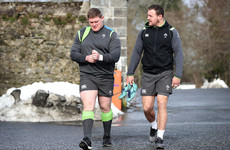 Tadhg Furlong declares himself fit and well for Ireland's clash with Scotland
