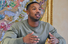 Black Panther actor Michael B. Jordan has offered to replace a fan's broken retainer for a gas reason
