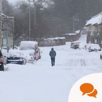 36 hours alone in a bed without so much as a hot drink: lessons to be learned from Storm Emma