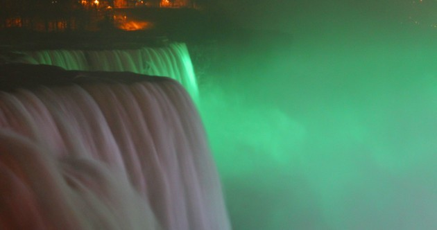 Want to see Niagara Falls turned green for Patrick's Day?