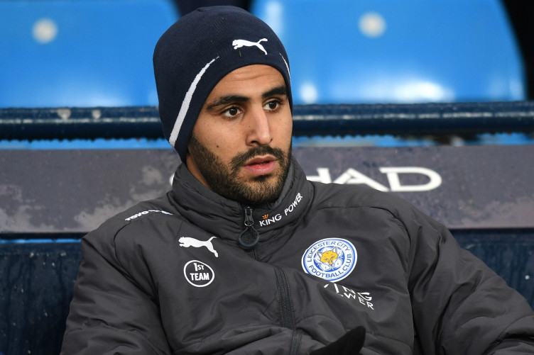 Riyad Mahrez at the Etihad Stadium