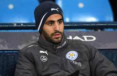 Mahrez regrets behaviour after failed Manchester City move