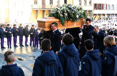 Powerful scenes as thousands of mourners sing 'one captain' at Davide Astori's funeral