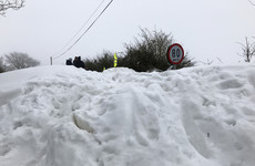 'Snow tourists' told to stay away from Wicklow Mountains this weekend over avalanche fears