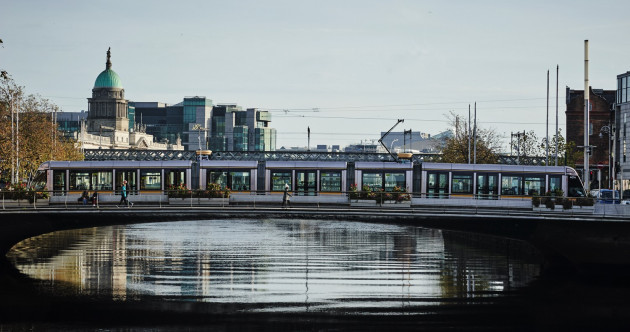 'It's part of the city's identity': The man who finds beauty in the Luas Cross City roadworks