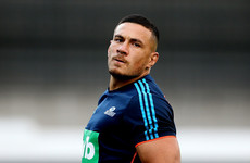 South African officials face action over Sonny Bill Williams masks