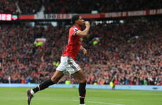 Rashford on the double as United remain second with defeat of Klopp's Reds