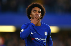Willian scores again as champions bounce back against relegation-threatened Palace