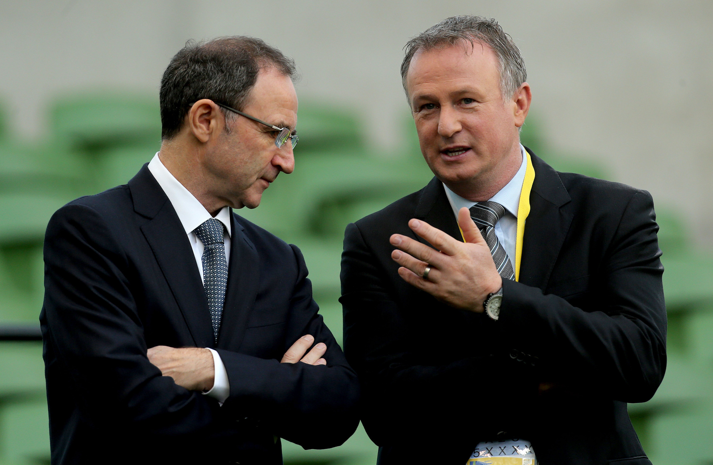 Northern Ireland manager Michael O'Neill denies attacking FAI over player eligibility
