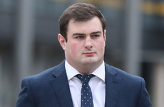 Rory Harrison accused of being 'delegated' to look after distressed woman after alleged rape