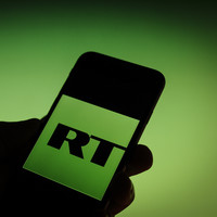Russia threatens to ban all British media from its country if the UK bans Kremlin-backed broadcaster RT