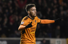 Doherty scores twice for leaders Wolves on good night for Irish players in the Championship