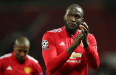 Lukaku clarifies 'hiding' teammates comment following Champions League exit
