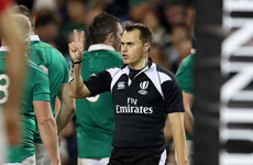 Saturday's assistant referee Van der Westhuizen involved in England training