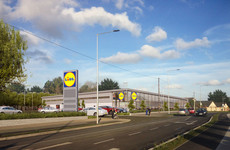 Lidl is promising to rebuild its Fortunestown Lane store ... and this is what it will look like