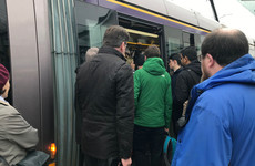 'We're crammed into trams': Serious delays on Luas Green Line