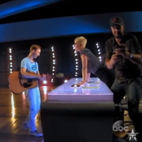 Katy Perry gave a teenage American Idol contestant his first kiss and it was pretty inappropriate