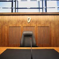 Judge hears all cases under garda surveillance after threat of 'hand grenade day'