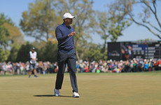 Tiger Woods sinks monster 71-foot putt to continue fine form, McIlroy one shot off the lead