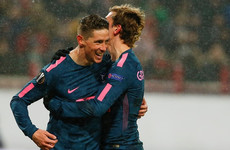 Griezmann produces peach of a lob and Torres bags two as rampant Atleti march into Europa League last eight