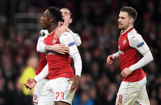 Arsenal see off Milan to reach Europa League quarter-finals as two-goal Welbeck criticised for dive