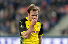 Dortmund crash out of Europa League as Austrian opponents cause upset