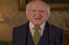 Michael D. Higgins paid tribute to the Irish abroad, and it is so heartwarming