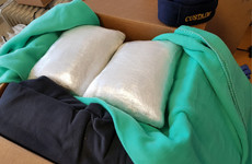 Herbal cannabis worth €90k found hidden in blankets sent from Canada