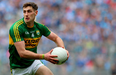 O'Shea ruled out with injury for Kerry but Geaney makes quick recovery to play Kildare