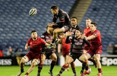 Munster suffer narrow Pro14 defeat in Edinburgh