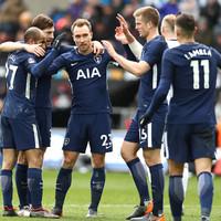 No Kane, no problem: Eriksen fires impressive Spurs into FA Cup semi-finals