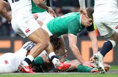 Watch: Three first-half tries give Ireland the dream start at Twickenham
