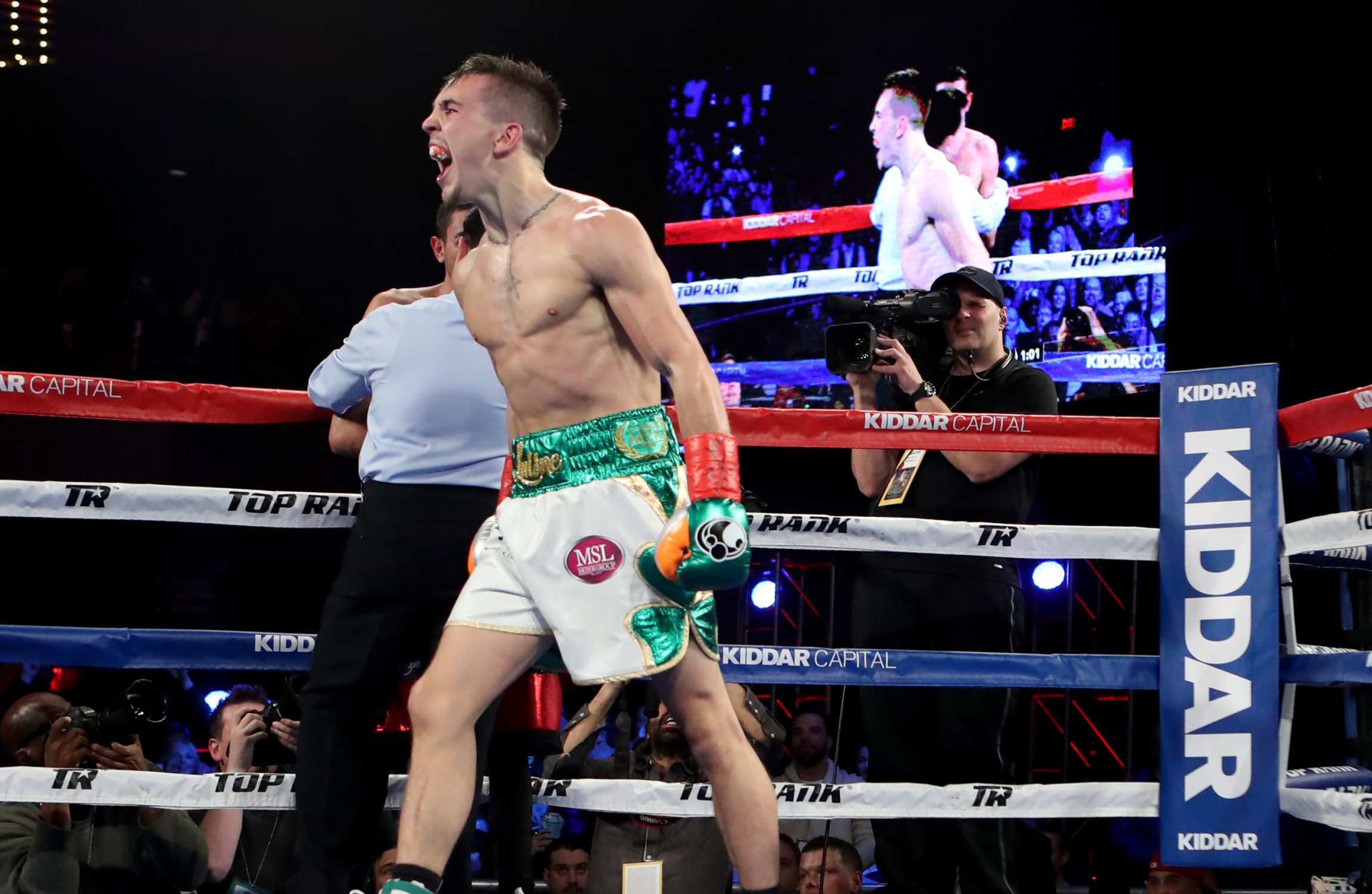 Michael Conlan shines during NY victory