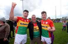 Carlow footballers make history by clinching promotion for the first time in over 30 years