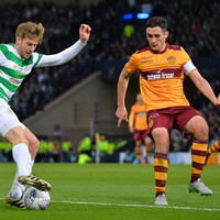 Donegal's Carl McHugh captains 10-man Motherwell to stalemate against Celtic