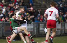 Red cards, black cards and injuries - Tyrone run out victors by 12 points as Mayo face battle to avoid the drop