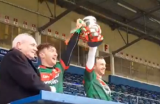 Keith Higgins helps inspire Mayo hurlers to league title and promotion