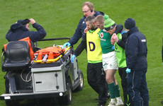 'I fear he is going to be out for quite a long time': Worrying update on Grand Slam winner Earls' injury