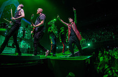 The Script bought a round for 8,000 fans in Belgium for Paddy's Day