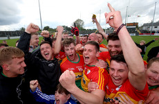 'He took on a sinking ship, the thing was in a state' - Carlow's rising to end 33-year promotion wait