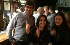 People were convinced that Louis Theroux celebrated Ireland's Grand Slam down in Wexford