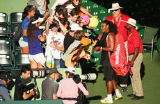 Serena's comeback not going to plan as ex-world number one crashes out at first round of Miami Open