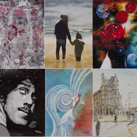 This charity is selling thousands of artworks for �50 each - some are by world-famous names