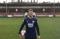 Canadian goalkeeper Tyson Farago signs for St Patrick's Athletic
