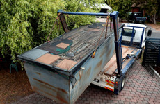 Two men who hijacked a skip-hire truck and attacked the driver jailed