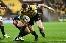 Watch: Barrett's intercept and Aso's world-class finish help Hurricanes halt Highlanders