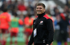 Farrell 'touch and go' for Saracens' showdown with Leinster after quad injury