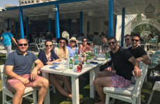 FYI, a rake of your Irish rugby faves are holidaying in Dubai together
