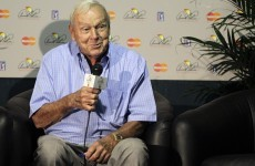 Arnold Palmer is not happy with no-show Rory McIlroy